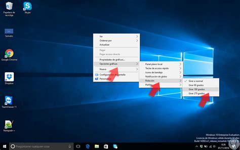 Cómo rotar pantalla en Windows 10   Solvetic