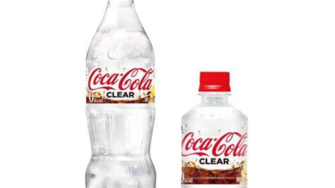 ¿Cómo sabe la nueva Coca cola transparente?