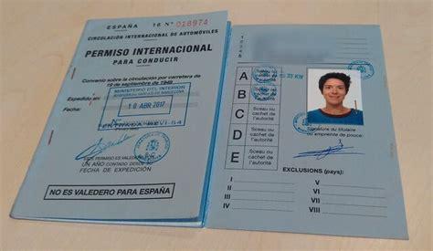 Cómo sacarse el carnet internacional de conducir paso a paso