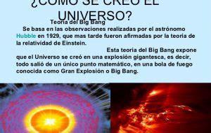 ¿Como se creó el universo?