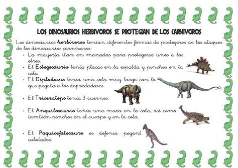 COMO SE DEFENDÍAN LOS DINOSAURIOS | dinosaures | Pinterest ...
