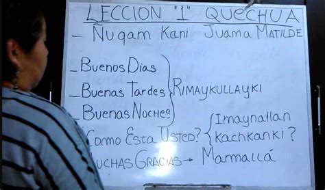 ¿Cómo se dice buenos días en quechua?   Traductor de ...