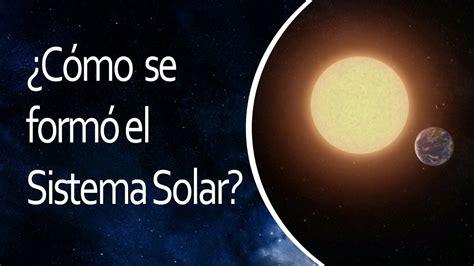 ¿Cómo se formó el Sistema Solar?  El Universo en 1 Minuto ...