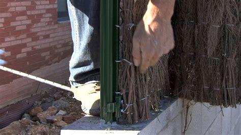 ¿Cómo se instala una valla de brezo?   YouTube