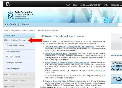 Cómo solicitar certificado digital persona física en 4 ...