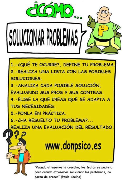 Cómo solucionar problemas....... | Educacion emocional ...