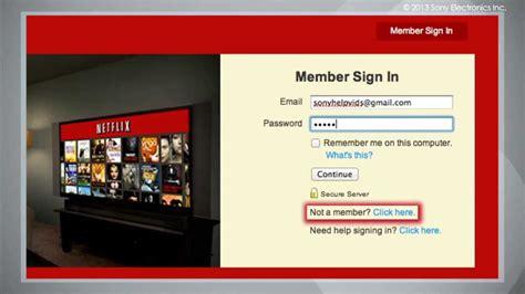 Cómo Tener Acceso a Netflix en su Televisor Sony   YouTube