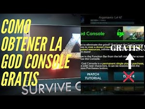 como tener god console ark survival evolved android mobile gratis