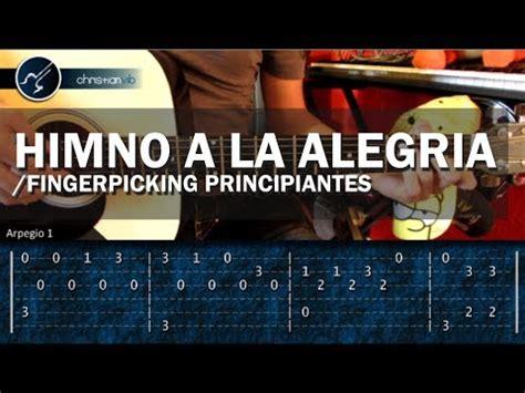 Cómo tocar HIMNO A LA ALEGRIA en Guitarra  HD  Tutorial ...