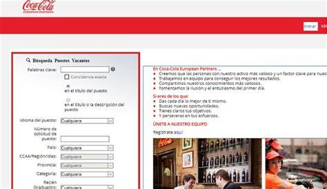 Cómo trabajar en Coca Cola en 2020   Ver Ofertas de Empleo