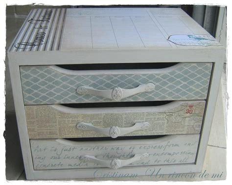 Como tunear caja Leroy Merlin   Cajas decoradas, Cajoneras ...