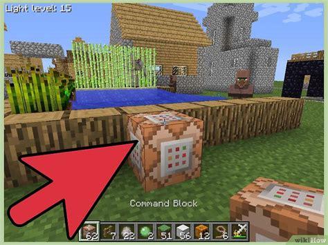 Cómo usar bloques de comando en Minecraft  con imágenes