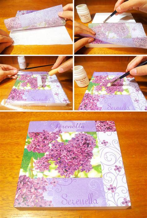 ¿Cómo usar foil sobre decoupage en madera? | Aracelyasmine ...
