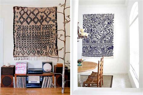   Cómo utilizar alfombras para decorar paredes   Decofilia.com