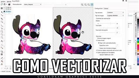 Como Vectorizar Una Imagen En Corel Draw   YouTube