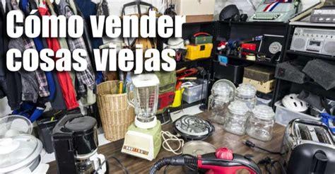 Cómo vender muebles usados o viejos electrodomésticos que ...