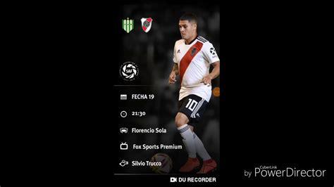 Como ver Banfield Vs River Plate / Superliga en Vivo   YouTube