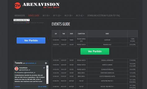 ¿Cómo ver fútbol gratis con Arenavision? Descubre cómo ...