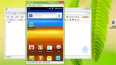 Cómo VER la pantalla del móvil Android en PC   Proyectar y ...