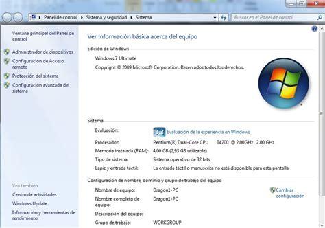 Cómo ver las características de mi ordenador con Windows 7 ...