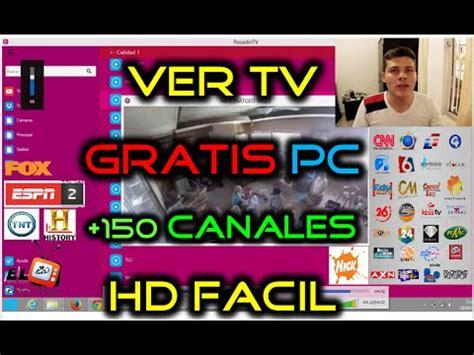 Como Ver TV GRATIS para PC en Windows 8 y Windows 10 + 100 ...