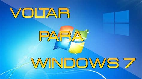 Como voltar do Windows 10 para Windows 7 sem perder ...