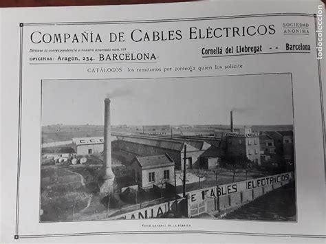compañia de cables electricos cornella llobrega   Comprar ...