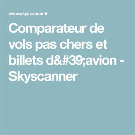 Comparateur de vols pas chers et billets d avion ...