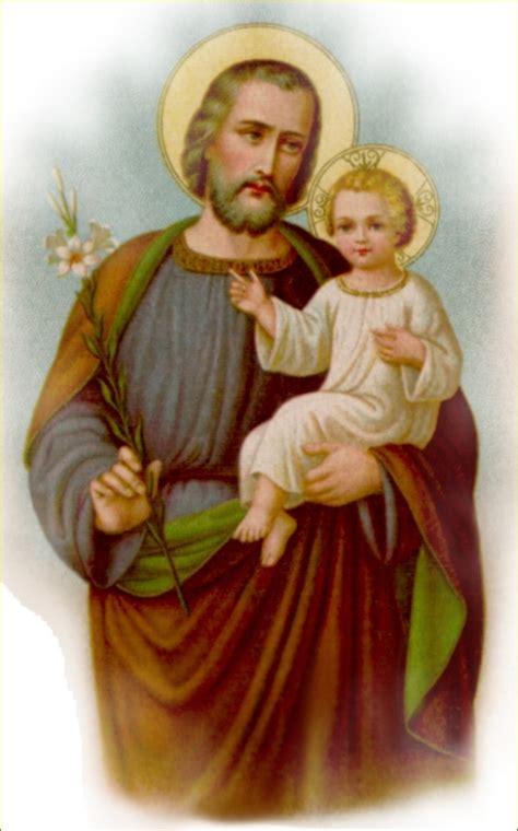 Compartiendo por amor: San José y el niño Jesús