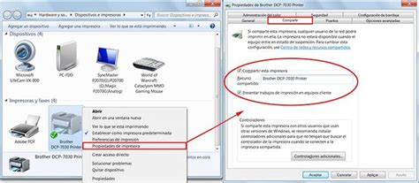 Compartir una impresora en red con Windows 7