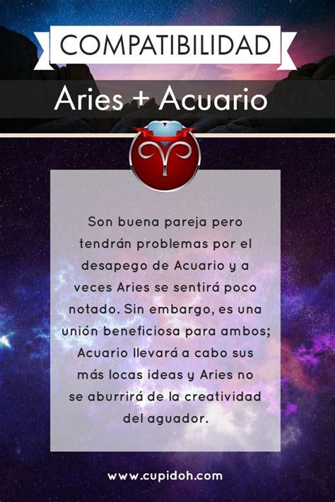 Compatibilidad de Aries en el amor   ¿Sois afines ...