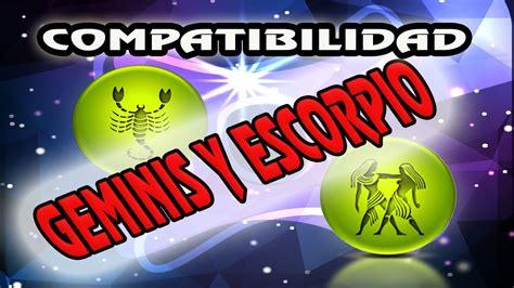 Compatibilidad Geminis Escorpio 2018 | COMPATIBILIDAD ...