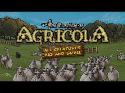Competitive Animal Breeding Game 'Agricola: All Creatures ...