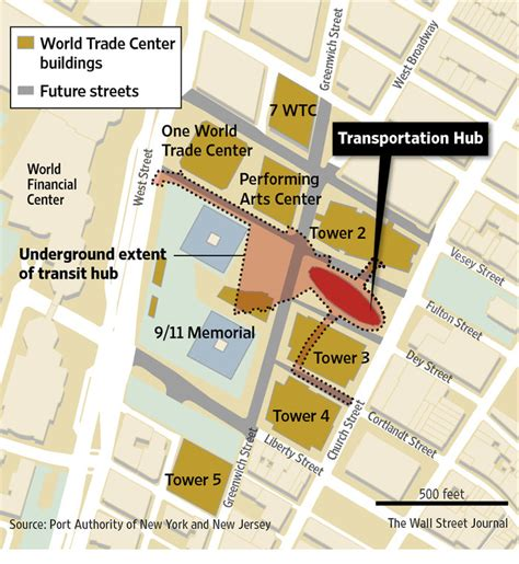 Complex Design, Political Fights Send World Trade Center ...