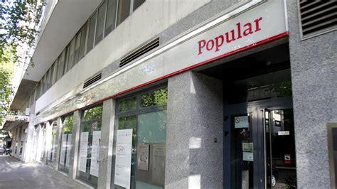 Compra Popular   La fusión Banco Santander Popular reabre ...