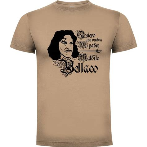 Comprar Camiseta Íñigo Montoya, Maldito bellaco  por Mos ...