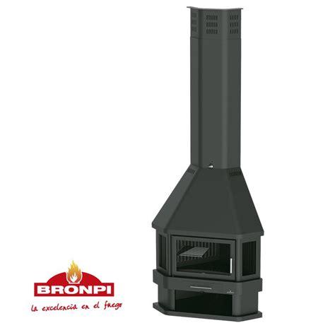 Comprar chimenea metálica Bronpi Lorca R Forjas Salvador.