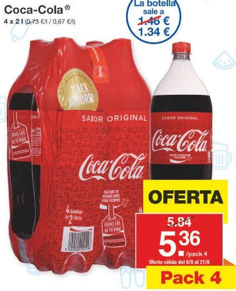 Comprar Coca Cola en Roquetas de Mar | Ofertas y descuentos