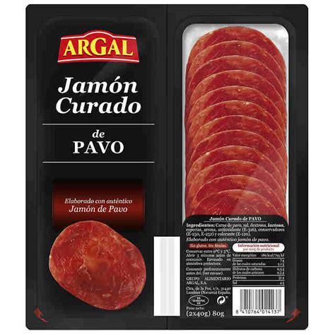 Comprar Jamón Curado de Pavo Argal 70gr en ulabox.com