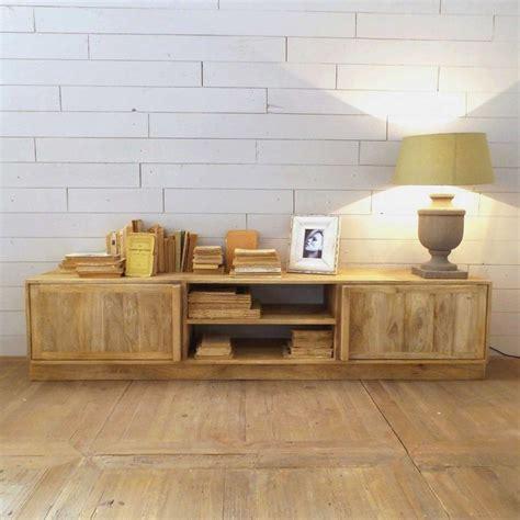 Comprar Mesa Tv Madera Mango. Tamaño Grande   Mueble ...