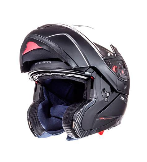 Comprar MT Helmets Casco modular MT Atom negro mate   tu ...