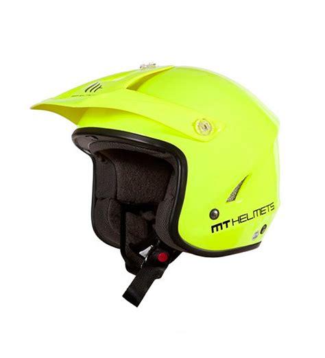 Comprar MT Helmets Casco trial MT Trial Tr One amarillo ...