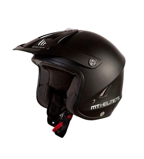 Comprar MT Helmets Casco trial MT Trial Tr One negro   tu ...