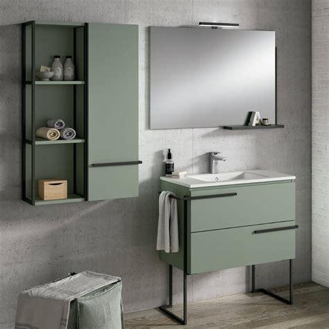 Comprar Mueble Baño SCALA Verde Musgo 80CM verde musgo