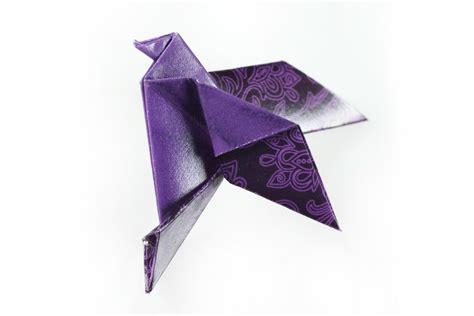 Comprar online broche barato con pájaro naif de origami