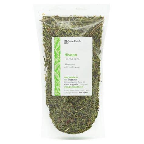Comprar planta hisopo seca para cosmetica. Venta online