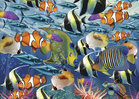 Comprar Puzzle Art Puzzle Banco de Peces Tropicales de 260 ...