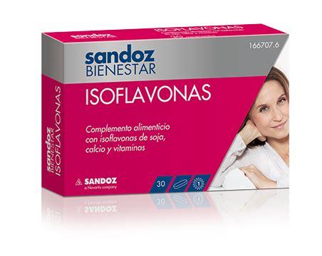 Comprar Sandoz Bienestar Isoflavonas 30 Comprimidos ahora ...