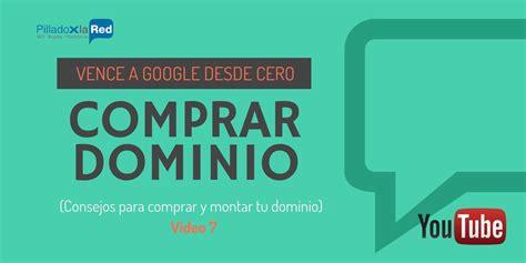 Comprar un dominio Web para SEO Vence a Google desde CERO