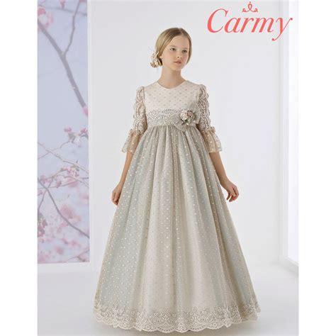 Comprar Vestido PREMIUM de Comunión CARMY 2021 modelo 1618